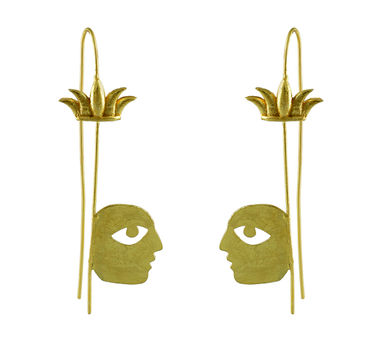 Dhora Bobo Tropical Hook Earring