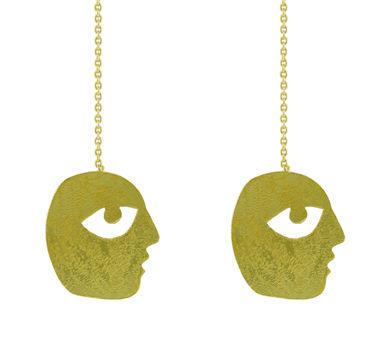 Dhora Bobo Chain Earring