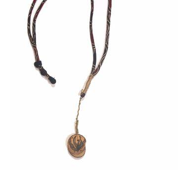Diti Mistry|Brass Wire Necklace