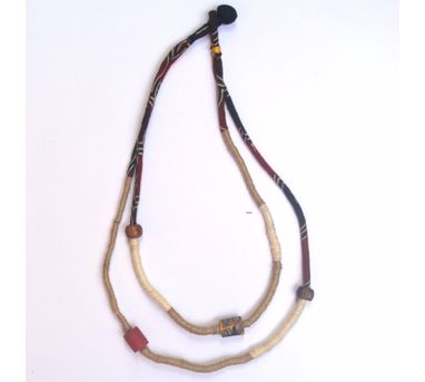 Diti Mistry|Glass and Wooden Beads Necklace