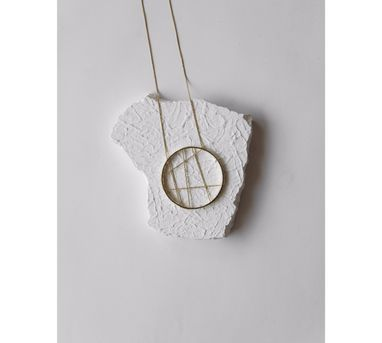 De'anma Confused Compass Necklace