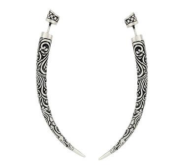 Dvibhumi | Taman Tusk Earrings
