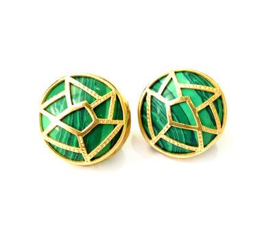 Eesha Zaveri | Round Jali Stud Earrings