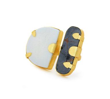 Eesha Zaveri   Big ceramic Ring