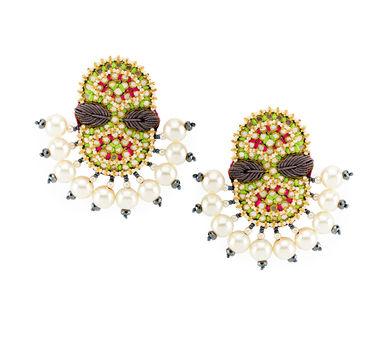 FOOLJHADI | Fan Thread Earrings