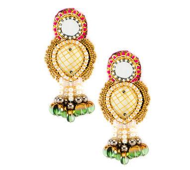FOOLJHADI | Shaded Pearl Earrings