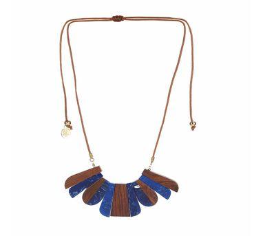 Iha|Savana Rose Indigo Necklace