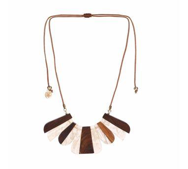Iha|Savana Rose Marble Necklace