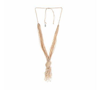 Iha|Mandara Off White Necklace