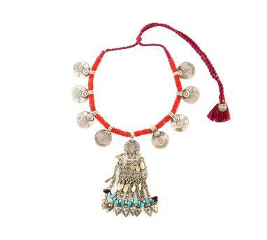 INDO CHINE   Mehr Coined  Neckpiece