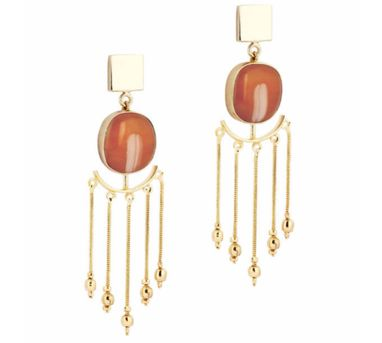 Ikroop|Cascade Earrings Orange