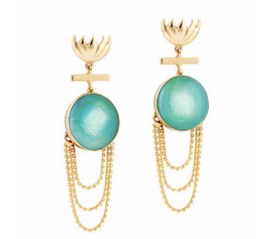 Ikroop|Brook Earrings Turquoise