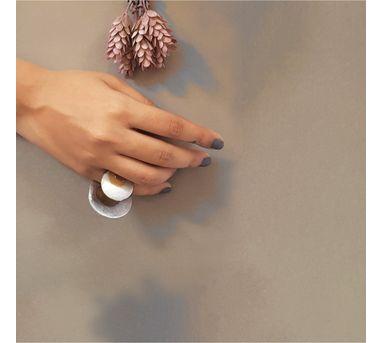 Kassa Lunar Disc Ring