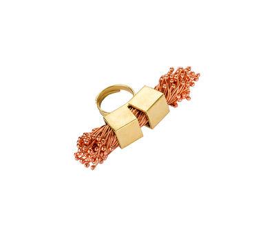 Kassa   Double Cube Flora-Copper