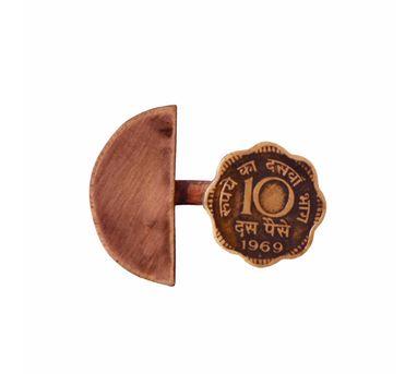 Krithaa 10 Paisa C-SemiCircle Split Ring