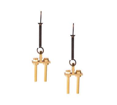 Krithaa|Screw-Loop Earrings