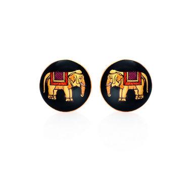 Kesya   Majestic Elephant Cufflinks