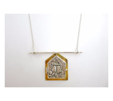 Lai|Deity Amulet Long Necklace