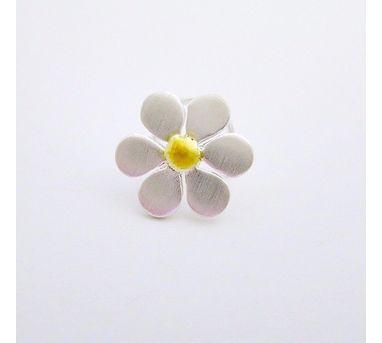 Lai|Dual Tone Flower Nosepin