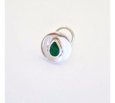 Lai Green Stone Nosepin