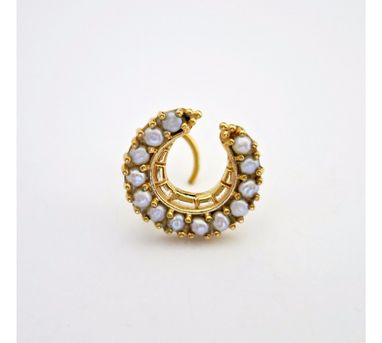 Lai Regal Gold Plated Nosepin