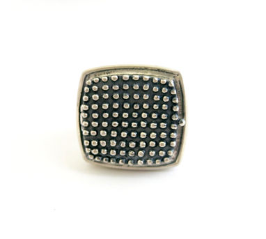 Lai|Beaded Texture Ring