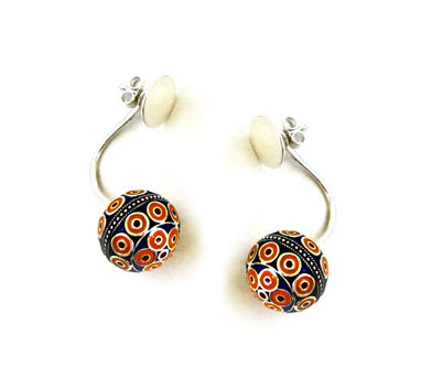 Lai|Front Back Earrings