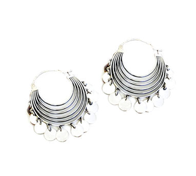 Lai Concentric Arc Hoops Earrings