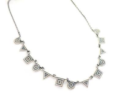 Lai Geometric Medley Necklace