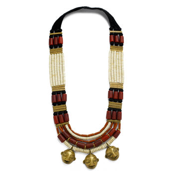 Maya Bazaar | Naga Trio Pendant Necklace