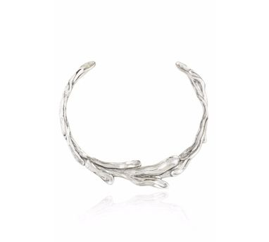 Manifest Design|Sirena Collar Necklace Silver