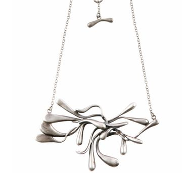 Manifest Design|Sprout Necklace Silver