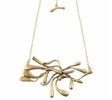 Manifest Design|Sprout Necklace Gold