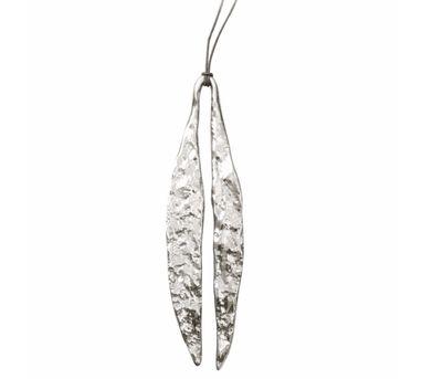 Manifest Design|Quarry Long Leaf Pendent Silver