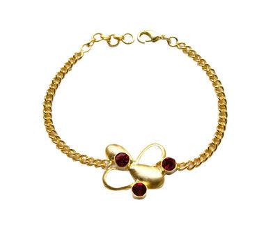 Meraki Jewelry | Red Foliage Bracelet