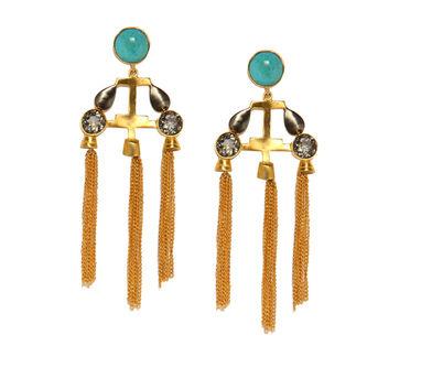 Meraki Jewelry | Tassel Tale Earrings