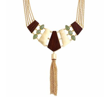 Madiha Jaipur|Cocktail Mint Necklace