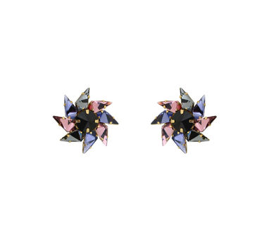 Maithili Kabre|Lilac Spin Stud Earrings