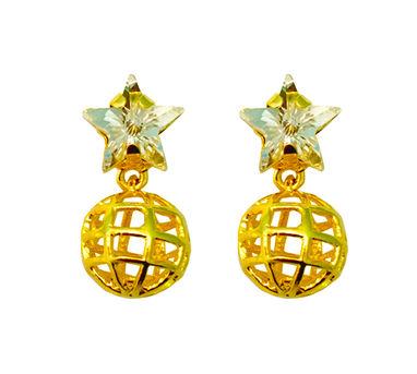Maithili Kabre   Star Globe earrings