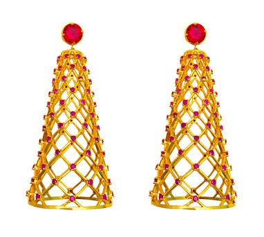 Maithili Kabre   Telescopic earrings