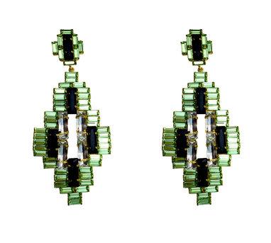 Maithili Kabre | Large Pixel Earrings