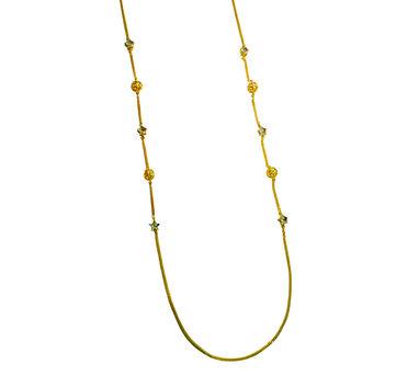 Maithili Kabre | Star Globe Chain necklace