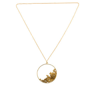 Studio Metallurgy |Washers and Bolts pendant necklace