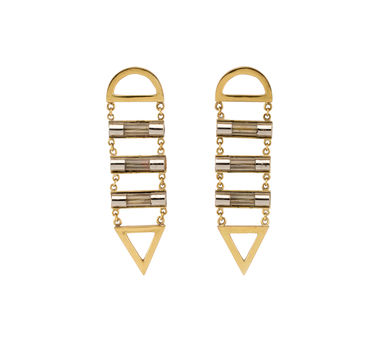 Studio Metallurgy |Fuse Ladder Earrings