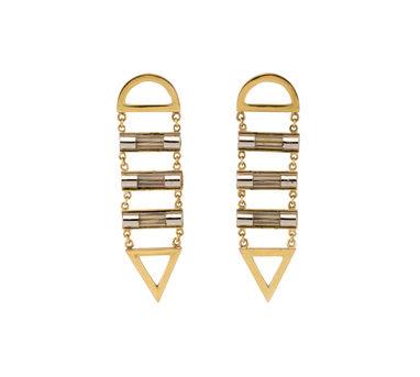 Studio Metallurgy |Fuse Ladder Earrings