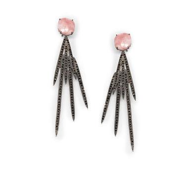 MYO Designs | Pink Opal Earrings