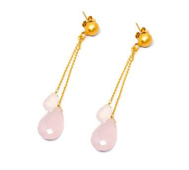 MYO Designs | Chalcedony Rose Briolette Earrings