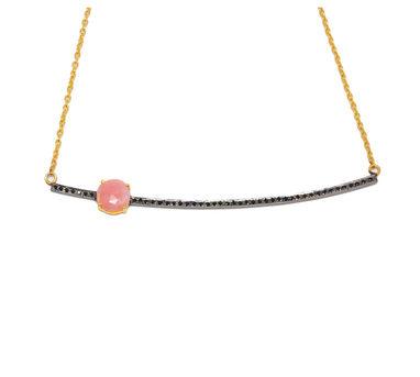 MYO Designs | Pink Opal Necklace