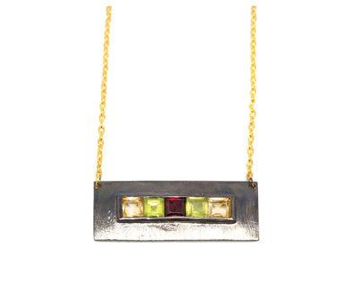 MYO Designs | Multi Coloured Stone Necklace