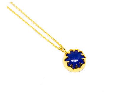 MYO Designs | Blue Quartz Cabushion Necklace